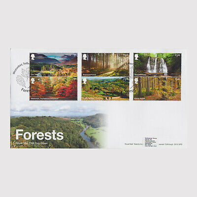 2019 Forests First Day Cover (FDC) - Westonbirt Postmark