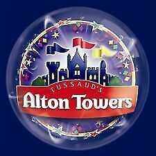 2 X Alton Towers Tickets For Sunday 8Th Sepember 2019