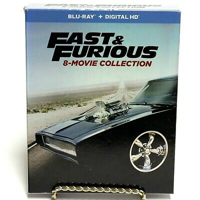 Fast & Furious 8-Movie Collection Blu-Ray Disc Movie Box Set