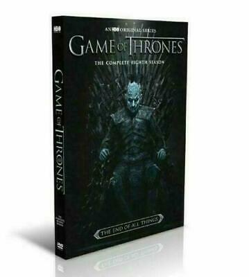 Game Of Thrones:The Complete Last Season (DVD, 2019, 3-Disc) Sophie Turner NEW
