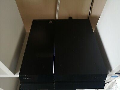 Sony PS4 PlayStation 4 Console - ** will not allow discs ** Read listing **