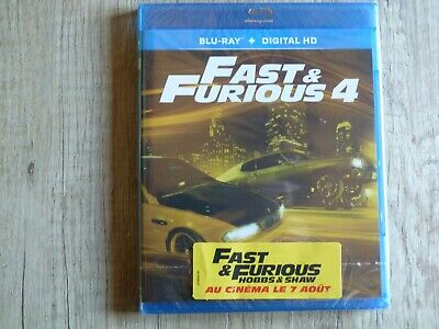 Blu ray DVD Fast and Furious 4 neuf sous blister