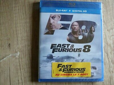 Blu ray DVD Fast and Furious 8 neuf sous blister