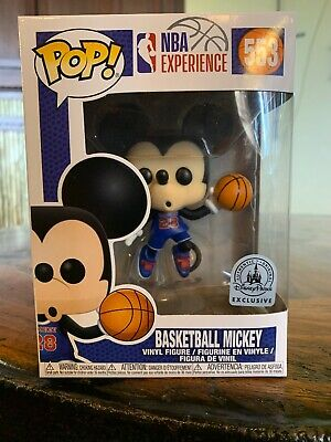 Funko PoP NBA Experience Basketball Mickey (Disney Parks Exclusive)