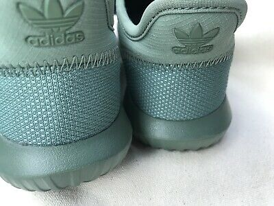 brand new 36400 7217e ADIDAS NEW TUBULAR Shadow ortholite green kids sneakers shoes size 2 Rare  find
