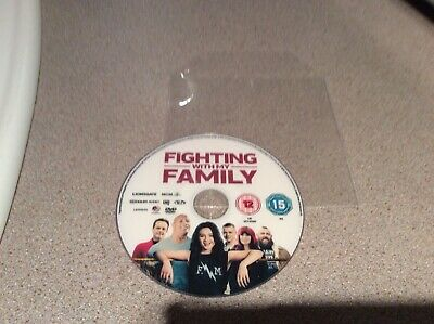 FIGHTING WITH MY FAMILY  DVD Disc only  0.99p