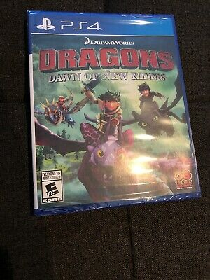 Dragons: Dawn Of New Riders PS4 Video Game New Moving piece