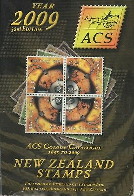 NEW ZEALAND 2009 ACS STAMP COLOUR CATALOGUE 32nd EDITION USED