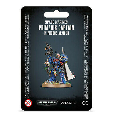 Primaris Captain in Phobos Armor Space Marines Warhammer 40K