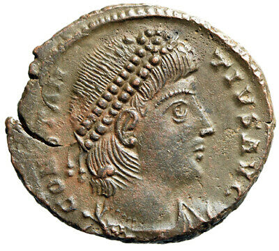 HIGH QUALITY PORTRAIT Roman Coin of Emperor Constantius II Antioch CERTIFIED