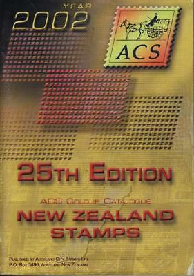 NEW ZEALAND 2002 ACS STAMP COLOUR CATALOGUE 25th EDITION USED