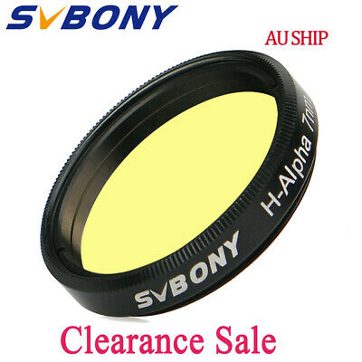 "SVBONY H-Alpha 7nm1.25"" Filter Kit IAD Narrowband Astronomical Photographic AU"