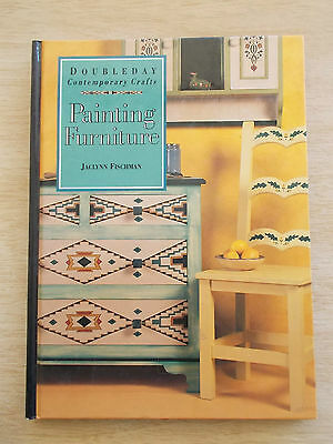 Painting Furniture~Jaclynn Fischman~12 Projects~Folk Art~Techniques~96pp H/B
