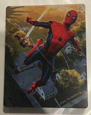 Spiderman Homecoming Blu-ray SteelBook 2D/3D - Opened Excellent condition