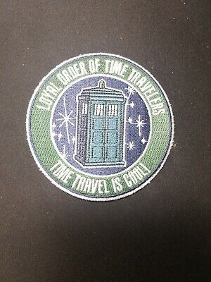 DOCTOR WHO TV Series Loyal Order of Time Travelers Logo 3 5