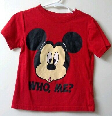 Mickey Mouse Clubhouse Mickey Red Shirt Size 3T