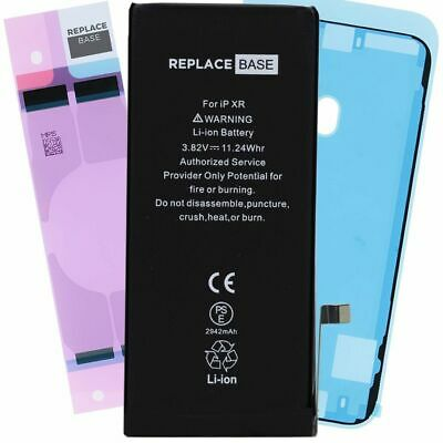 Replacement Battery For Apple iPhone XR 2942mAh CE Adhesive Zero Cycle - 100%