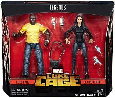 SG B07HDDK7Z9 US Marvel Legends Luke Cage & Claire Temple 2 Pack Exclusive