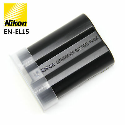 Original Nikon EN-EL15 Battery For Nikon D7000 D7100 D7200 D800 D810 D750 V1