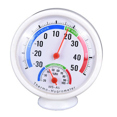 Digital Indoor Outdoor LCD Thermometer Hygrometer Temperature Humidity MeteD SK