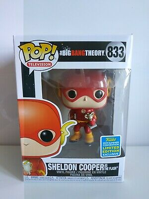 Funko Pop Sheldon Flash The Big Bang Theory SDCC 2019 Exclusive-Limited-ver