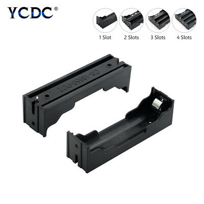 1 2 3 4 Slot Multi Way DIY 18650 Battery Clip Holder Container With Hard Pins B