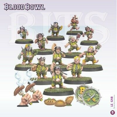 Blood Bowl The Greenfield Grasshuggers Halfling Blood Bowl Team Gw 2019