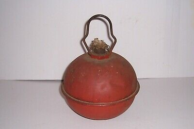 Vintage Dietz No 96 Torch Smudge Pot Red Nice Patina