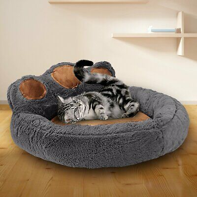 Large Fleece Pet Dog Cat Bed Puppy Cushion House Sleep Rest Kennel Paw Blanket