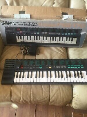 yamaha portasound pss-170 Electronic keyboard with power adaptor