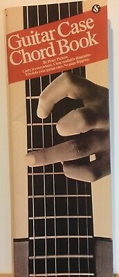 Guitar Case Chord Book by Peter Picklow