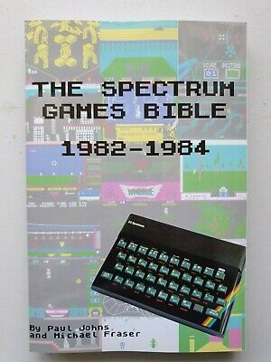 The Spectrum Games Bible 1982 - 1984 (Full Colour Edition from Lulu Publishing)