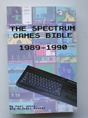 The Spectrum Games Bible 1989 - 1990 (Full Colour Edition from Lulu Publishing)
