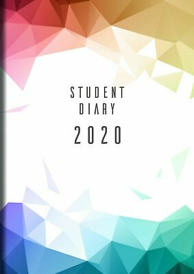 Collins Colplan 2020 A5 Student Diary Planner Week to View WTV SC37 Case Bound