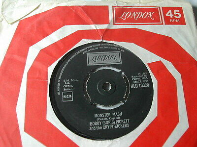 Bobby 'Boris' Pickett And The Cryptkickers - Monster Mash - London 7""