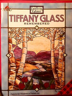 Plaid Tiffany Glass Remembered Glass Paint Designs Book