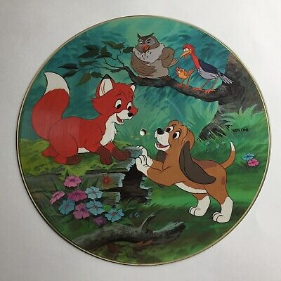PICTURE DISC  ~  The Fox and the Hound  -  Disney