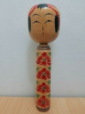 Vintage Japan Made Togatta Style Kokeshi doll (35 cm)