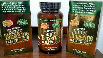 Two Beyond Tangy Tangerine BTT 2.0 Peach Fusion 120 Tablets by Youngevity