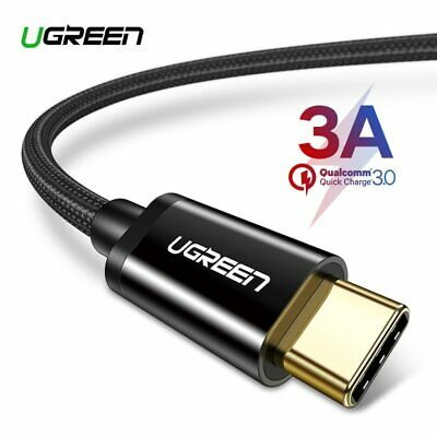 Ugreen USB Type C Cable for Samsung S9 S8 Fast Charge Type-C Mobile Phone