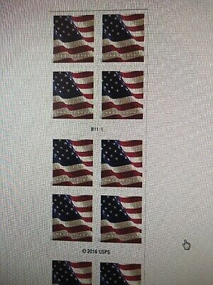 1 Coil / 100 Stamps USPS Forever 1st Class Postage US Flag