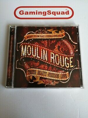Moulin Rouge, Music from the Film CD, Supplied by Gaming Squad