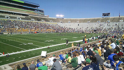(2) Notre Dame Fighting Irish vs. USC Trojans football tickets Lower Level