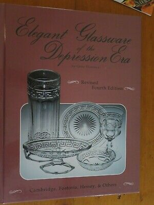 ELEGANT GLASSWARE of the DEPRESSION ERA - GENE FLORENCE 1991