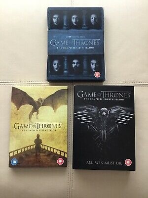 Game Of Thrones Series 4 , 5 And 6