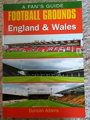 A Fan's Guide Football Grounds England & Wales Book (Paperback) (Postage Extra)