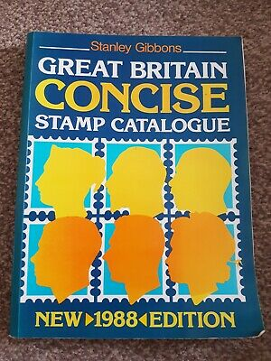 Stanley Gibbons GB Concise British Stamp Catalogue 1988