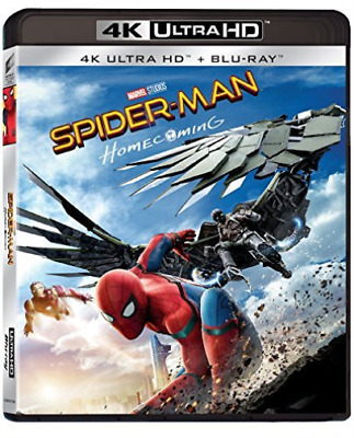 Holland,Tomei,Downey Jr.,Ke...-Spider-Man Homecoming (Blu-Ray 4K U BLU-RAY NUOVO