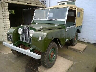 1952 Land Rover Series 1 80 inch - Totally Original Rot Free Vehicle