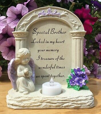 Special Brother Archway To Heaven Grave Memorial Ornament, Cemetery Remembrance